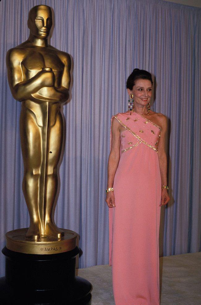 Audrey Hepburn 1986 Oscar