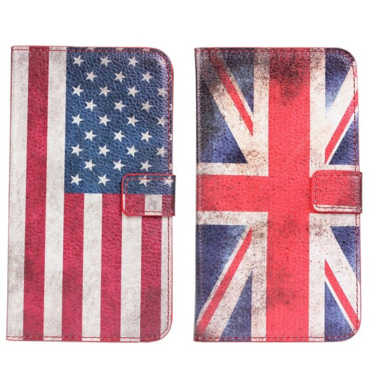 Retro Flag Case For Samsung Galaxy Note 3 UK USA Cover Wallet Flip Leather Book Purse Mobile Accessories For Galaxy Note 3 Cover