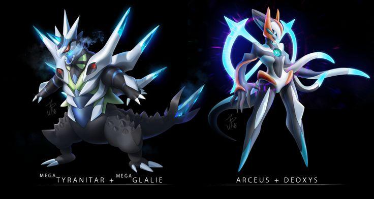 E621 Arceus Deoxys Fusion Legendary Pok 233 Mon Mega Evolution Mega Glalie Mega Tyranitar Nintendo