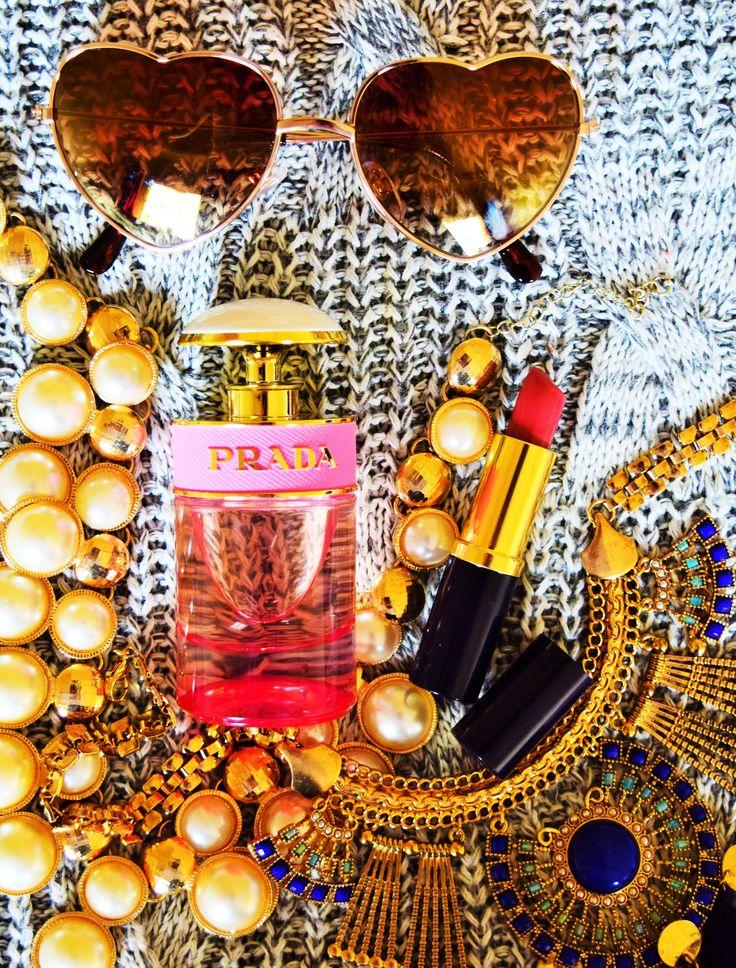 My new fragrance from Prada <3 Prada Candy Florale