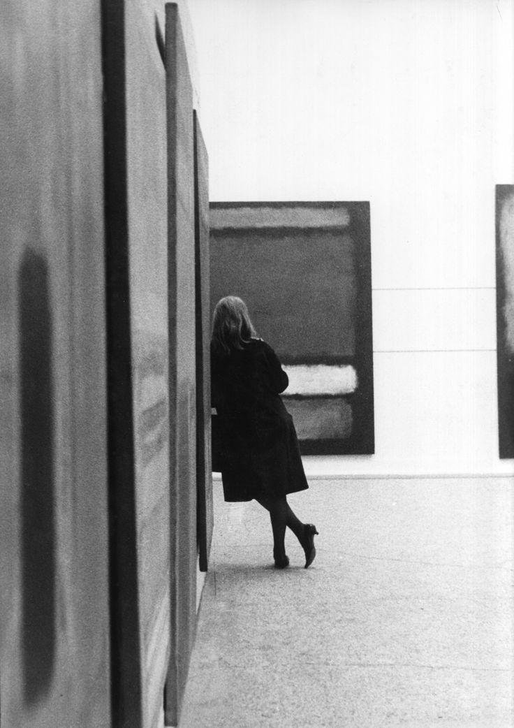 "jonasgrossmann: ""sandra lousada… mark rothko exhibition at whitechapel gallery, london, 1961 @ sfmoma """