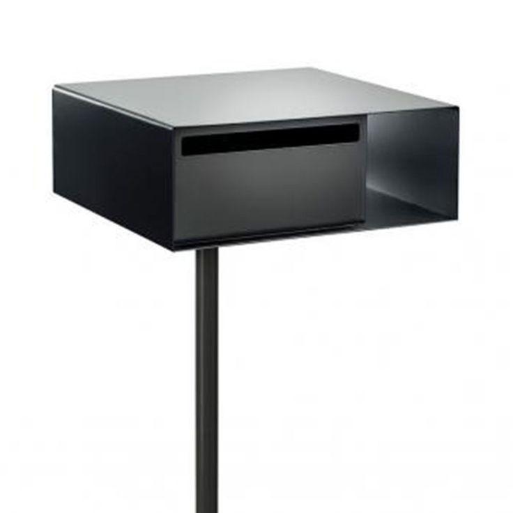top3 by design - arko design - basel letterbox woodland grey