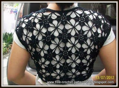 Girlies Crochet: Bolero Elegant 2