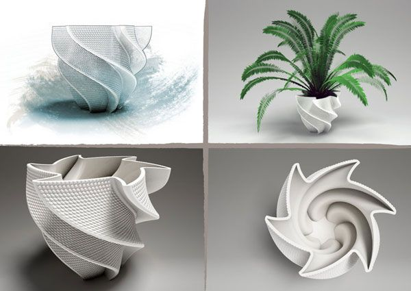 #3d #Printed Interior Design. Start making your own 3d prototype now at: http://www.mylocal3dprinting.com
