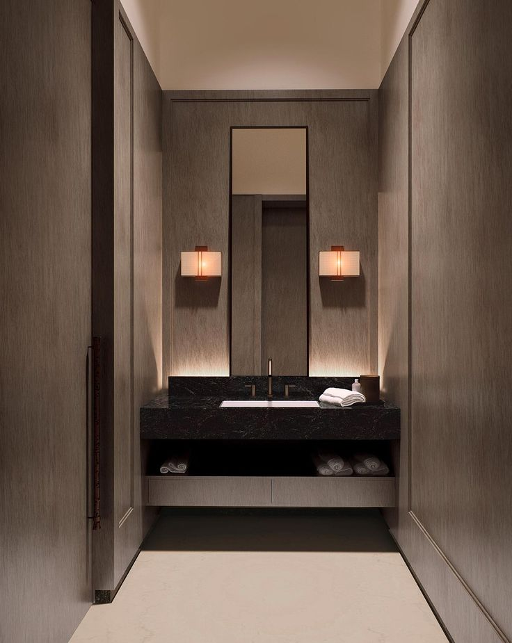 1000 ideas about powder room design on pinterest powder rooms tiling and modern powder rooms. Black Bedroom Furniture Sets. Home Design Ideas