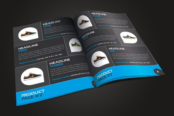 RW Pro Sports Catalog by Tugrul Ozmen, via Behance