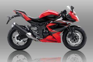 Kawasaki Ninja 250 RR Mono Merah