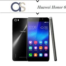 Original Huawei Honor 6 teléfonos móviles Android 4.4 Octa core1. 7 Ghz 16 G ROM 5.0 pulgadas 1920 * 1080 P IPS 13.0MP 4 G LTE teléfonos Android