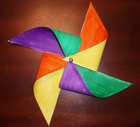 Pinwheel Craft for Teaching about the Holy Spirit