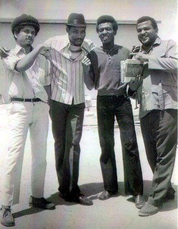 Al Capone, Derrick Morgan, Jimmy Cliff & Bunny Striker Lee