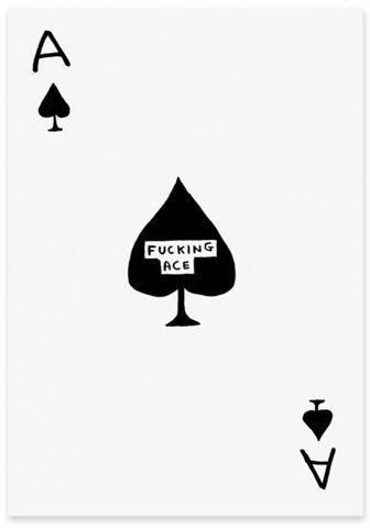 I remember when we used to have cards as marks (if you were ace but wanted romance then it was ace of hearts etc) and this was the card for aromantic aces
