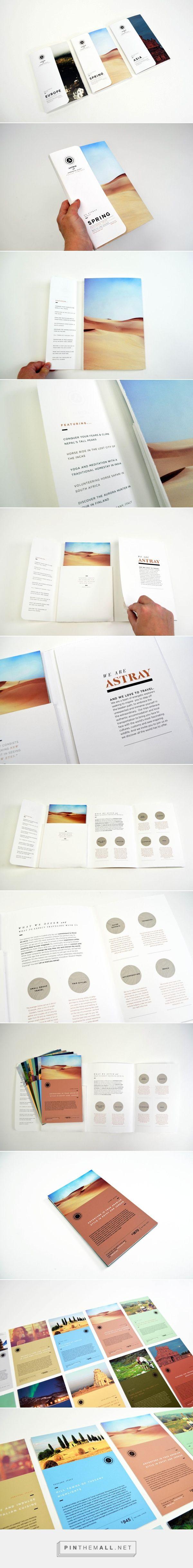 Astray Travel Co : Brochure Design on Behance - created via…