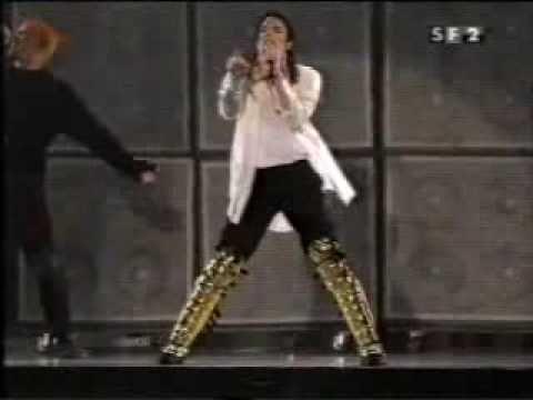 Michael Jackson Black Or White Live In Munich History Tour  wlk,wlk w auth, skp, rn