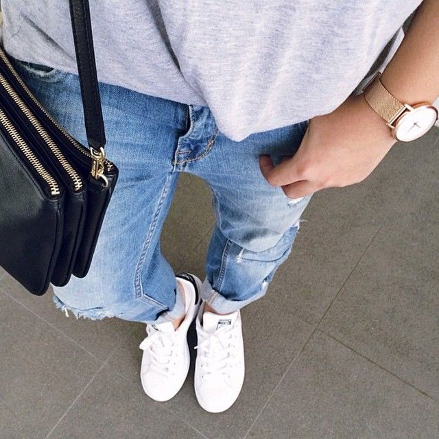 Urban casual by @lovelaurenalexa #cluse #clusewatches #watch #urban #minimal #fashion #style