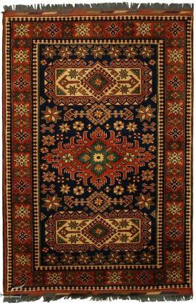 Central Asian Rug - Kargai Carpet  Width117.00 cm (3,84 Feet) Lenght175.00 cm (5,74 Feet)