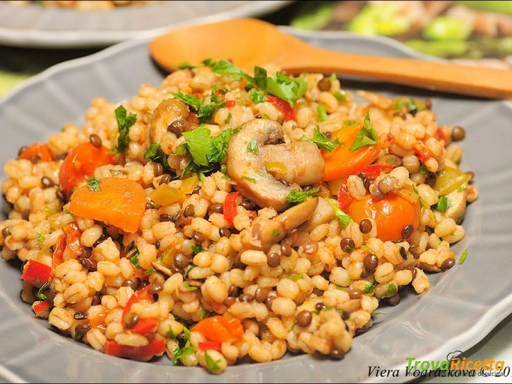 Orzo perlato all'ortolana  #ricette #food #recipes