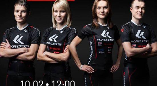 Konferencja Kross Racing Team na żywo w sieci.