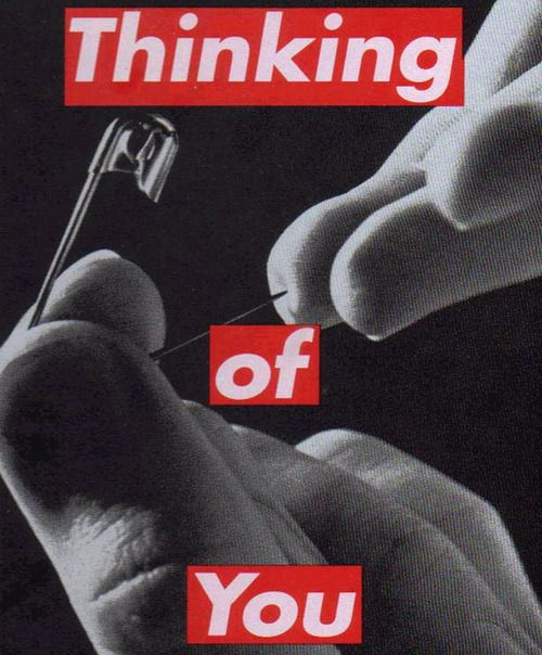 Barbara Kruger, Untitled (Thinking of You), 1999–2000