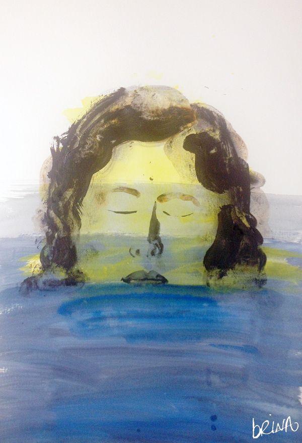 brina schenk - quick paintings - water series