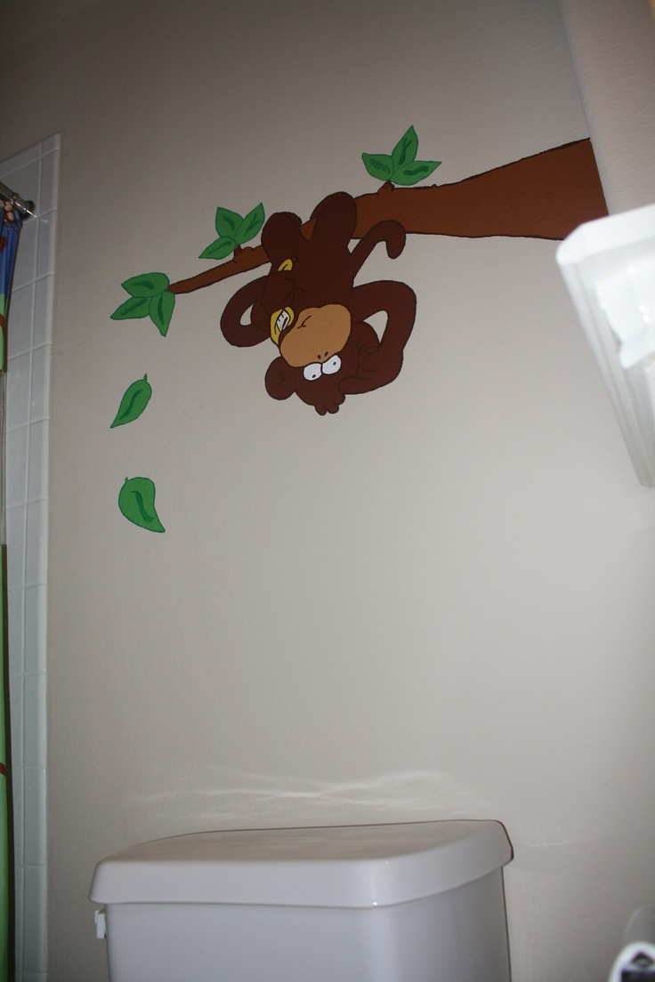 25 Best Ideas About Monkey Bathroom On Pinterest Kids