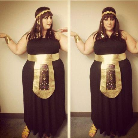 DIY no sewing cleopatra costume
