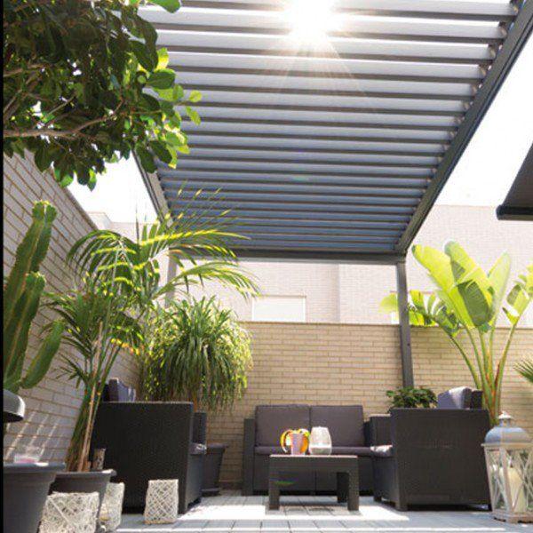 16 best faire de l 39 ombre dans son jardin images on pinterest arbors backyard patio and balconies - Faire une rocaille dans son jardin ...
