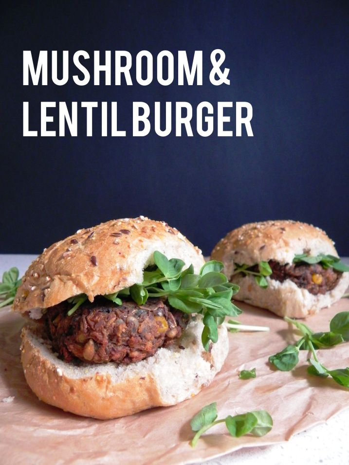 lentil burger | Food to make! | Pinterest | Lentil Burgers, Lentils ...