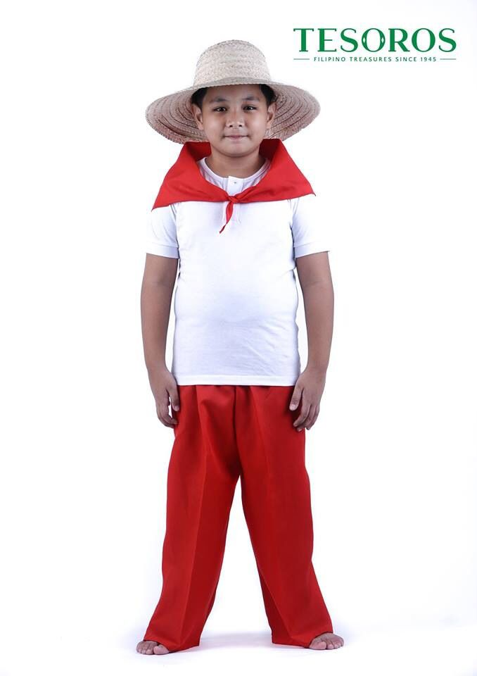 The idealized filipino with  Magsasaka  pants and scarf. Fabric of red nylon with the Buri  Sintas  hat. | Childrenu0027s Wear | Pinterest | Filipino  sc 1 st  Pinterest & The idealized filipino with