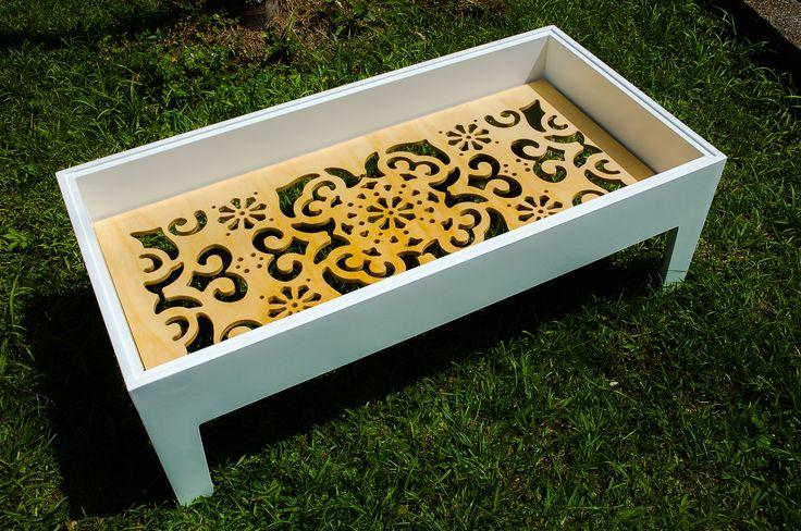 mesa de centro hortensia