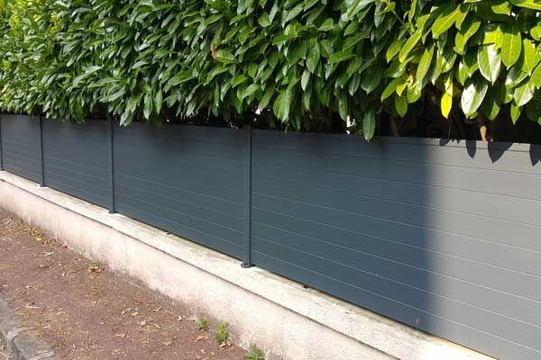 Clotures Beton Ou Alu Claustras En Bois Acier Pvc Claustra Cloture Maison Cloture Aluminium