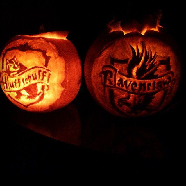 Hufflepuff And Ravenclaw Halloween Harry Potter