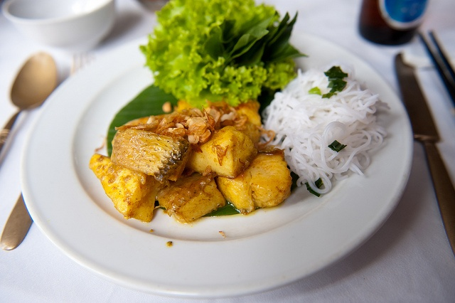 Grilled fish 'La Vong' style (Cha ca La Vong)