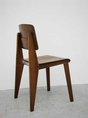 Jean Prouve Standard chair wood