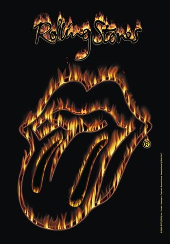 Drapeau ROLLING STONES - Tongue Of Fire