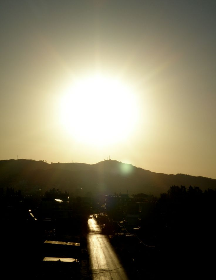 sun is up