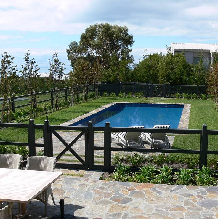 If you are looking for a less obtrusive type of pool fencing that still keeps the area safe, Dolphin can help! We also work with attractive aviary wire.