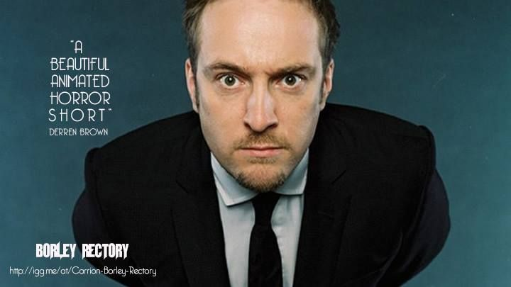 Derren Brown on 'Borley Rectory'!