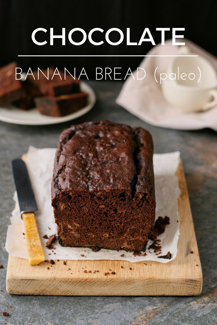 ~ Recipe ~ Chocolate banana bread that is refined sugar free, gluten free and delicious!