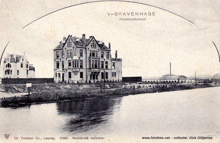Huishoudschool Suezkade/Laan van Meerdervoort plm. 1900
