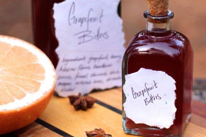 Digestive Bitters & Grapefruit Bitters Recipe