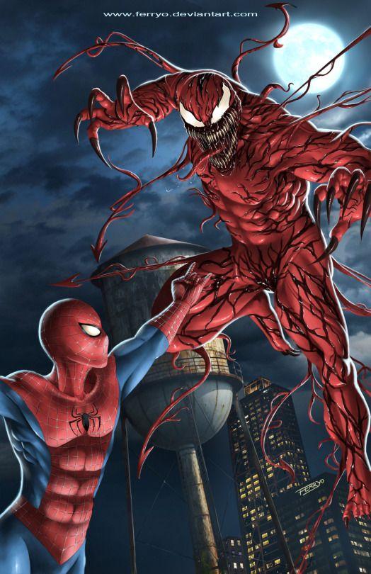 SPIDERMAN X CARNAGE by ferryo | Comic Gawds | Pinterest ...