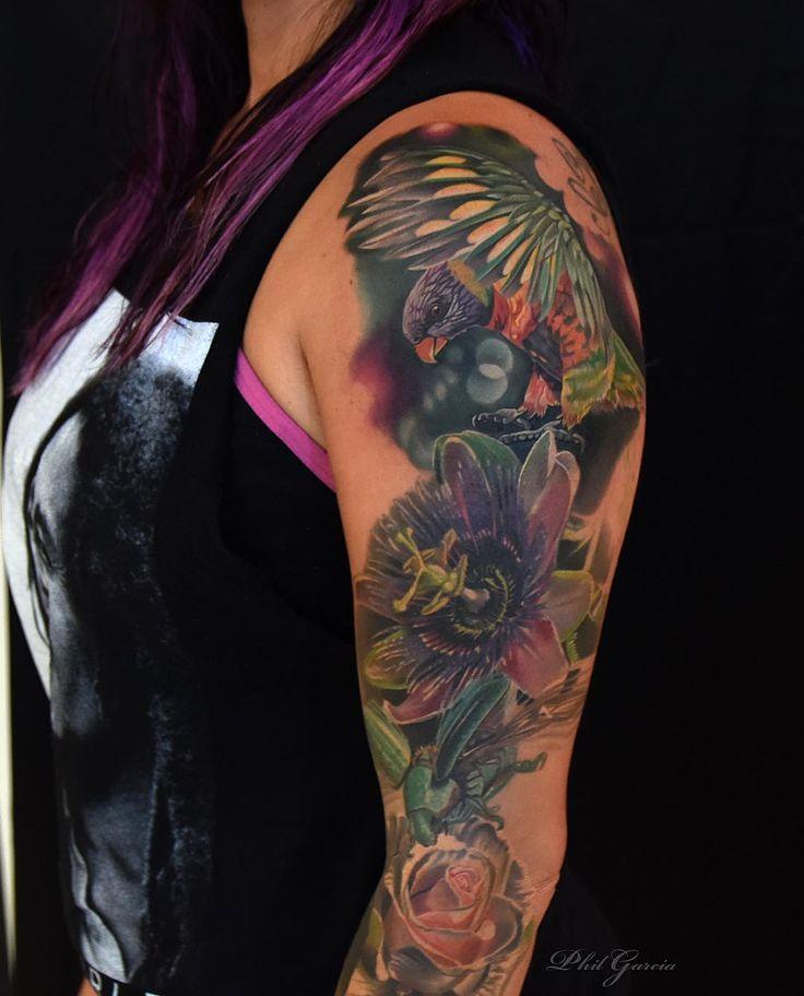 Tattoo Junebug Rose And