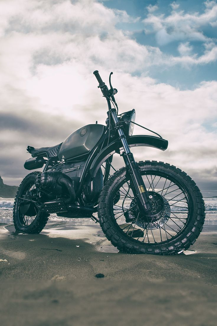 """""""The donor bike was the last of the cheap BMW airhead buys in the Portland metro area,"""" says @iconmotosports design director Kurt Walter.  """"Like a swarm of bearded locusts, hipster nation had already devoured every Honda CB within a thousand miles."""""""