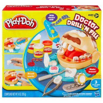 Hasbro Play-Doh Doctor Drill 'N Fill Playset