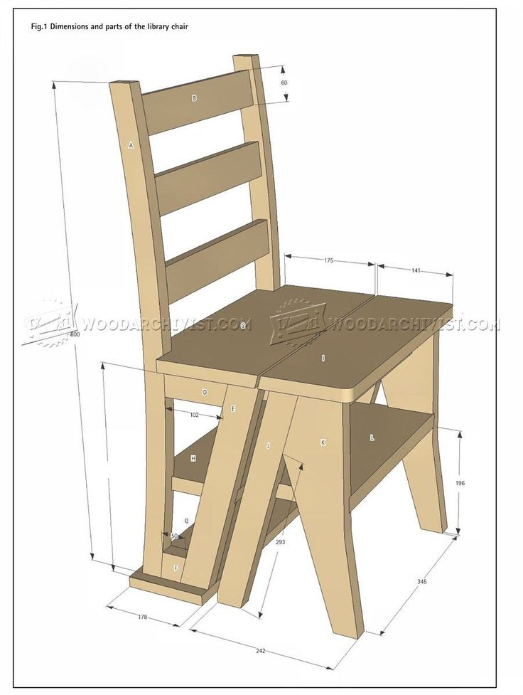 2275 Make Step Stool Furniture Plans Marangoz