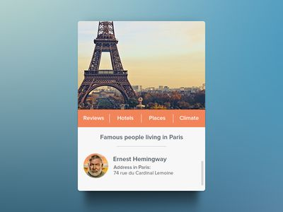 Paris Widget [Freebie] #bcdesign1