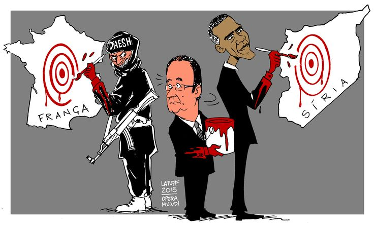 Hollande, Obama, Syria, Paris Shootings | 13 de Noviembre de 2015