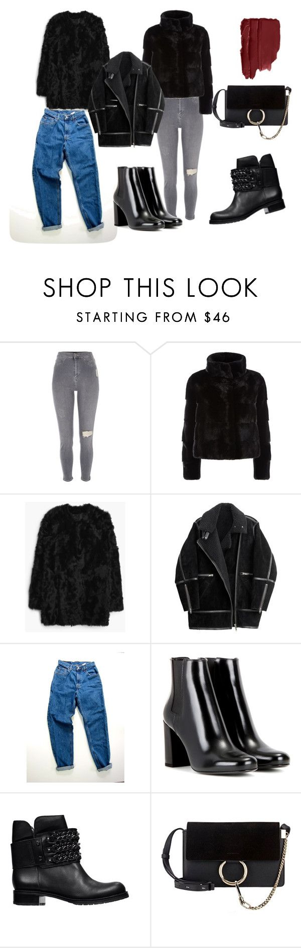 """97689"" by alena-mendesh on Polyvore featuring мода, River Island, Harrods, MANGO, H&M, Levi's, Yves Saint Laurent и DKNY"