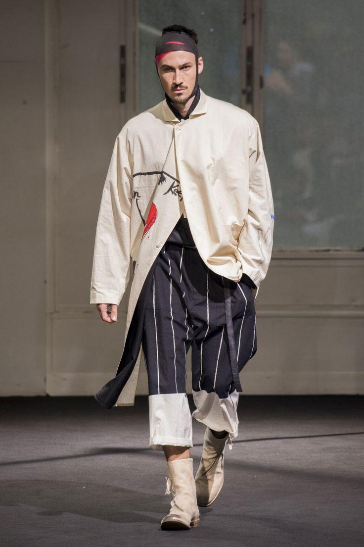 Yohji Yamamoto - Spring-Summer 2017 - Paris Fashion Week