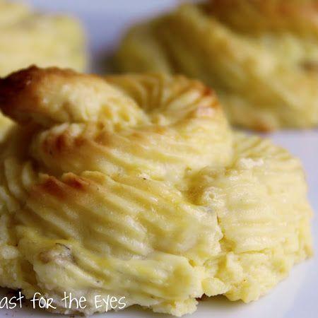 Duchess Potatoes | eat me // drink me | Pinterest